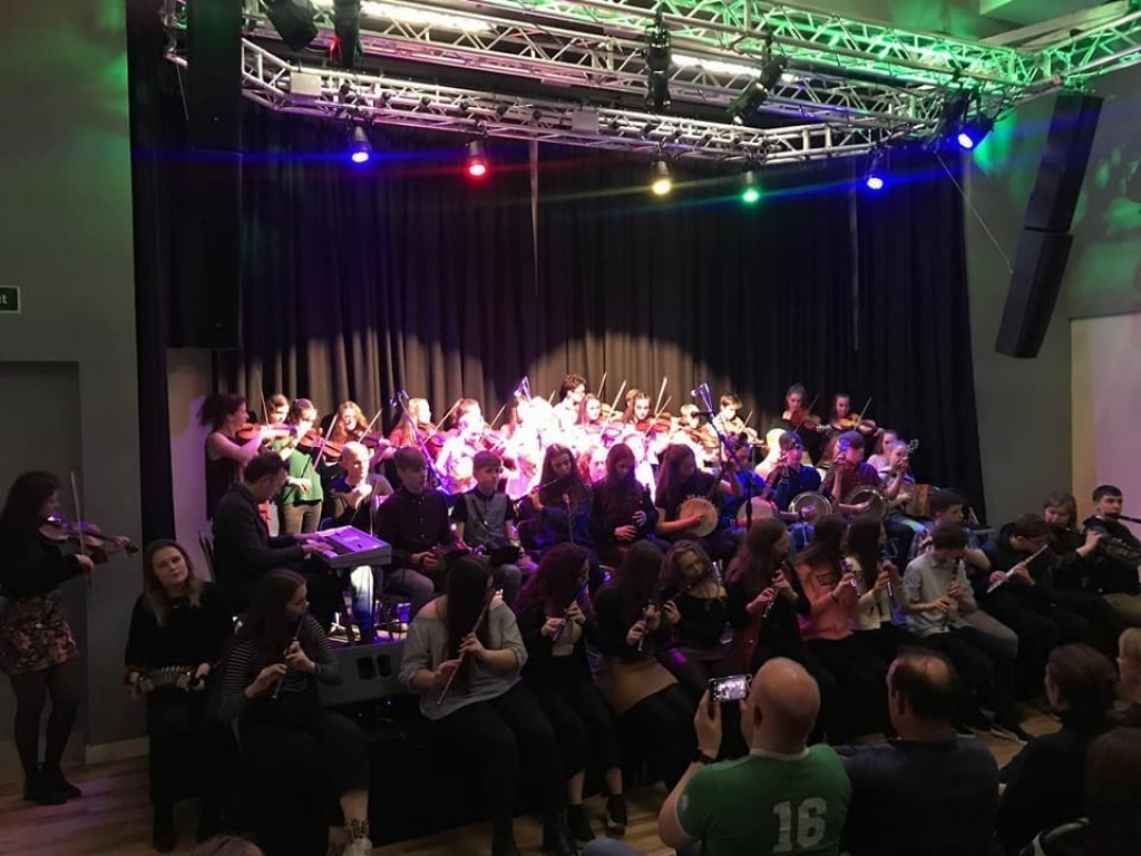 Ceilithon fundraiser for the Camden-Tulla Music Exchange Project