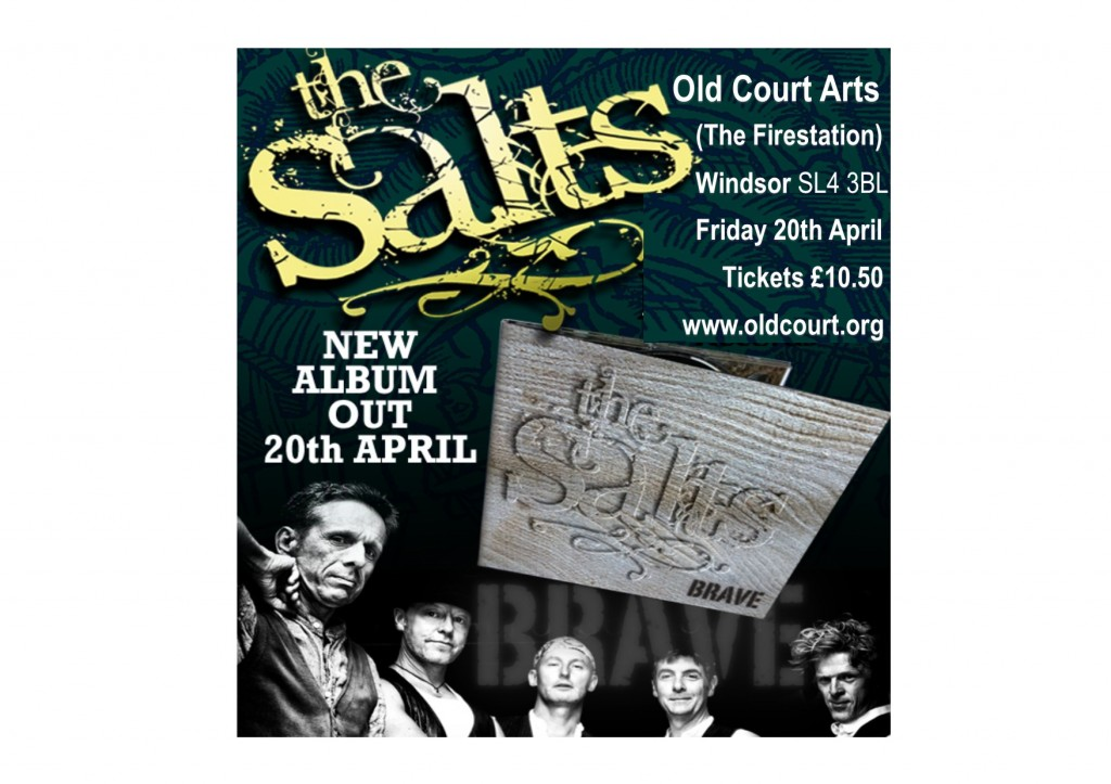 The Salts launch new album BRAVE