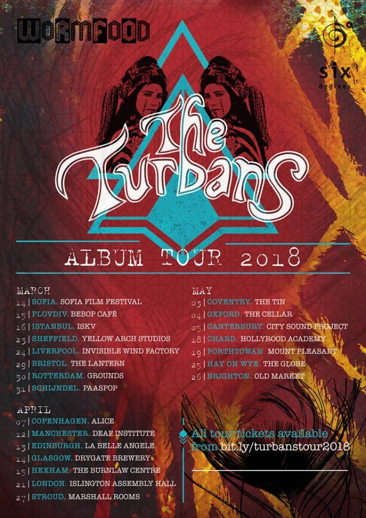 The Turbans debut album No 1 on the iTunes World Music Chart