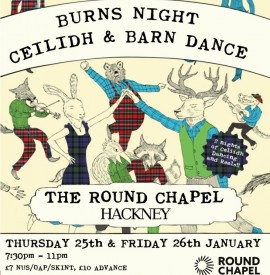 BURNS NIGHT CEILIDH AND BARN DANCES
