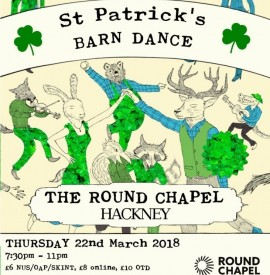 St. Patrick´s Day Ceilidh and Barn Dance with Cut a Shine, plus new dance classes