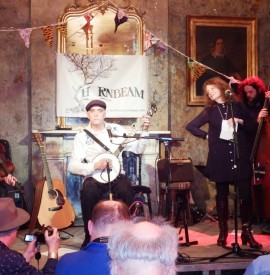 Bonnie Dobson and Jim Kweskin at the Old Queen's Head